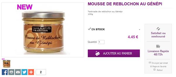 mousse-reblochon-génépi